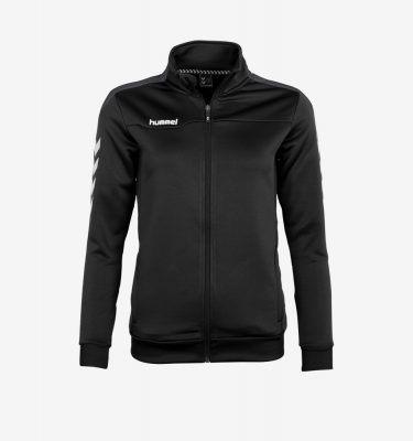 Afbeelding Hummel Valencia Jacket Full Zip trainingsjas zwart antracite