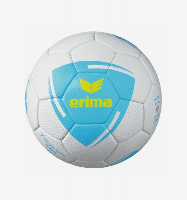 Erima Future Grip Kids handbal wit lichtblauw geel
